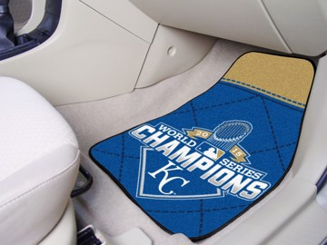 Picture of MLB - Kansas City Royals 2015 World Series Champions Carpet Car Mat Set