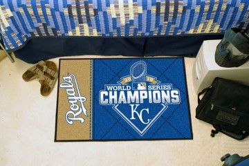 Picture of MLB - Kansas City Royals 2015 World Series Champions Starter Mat