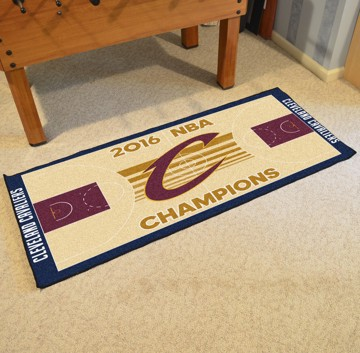 Picture of NBA - Cleveland Cavaliers 2016 NBA Finals Champions NBA Court Large Runner