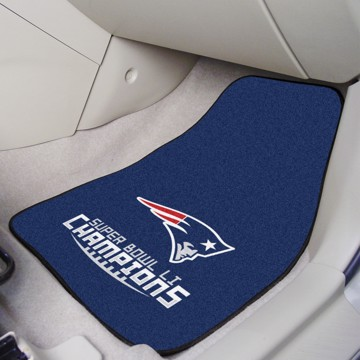 Picture of NFL - New England Patriots Super Bowl LI Champions Carpet Car Mat Set