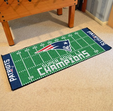 Picture of NFL - New England Patriots Super Bowl LI Champions Football Field Runner