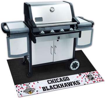 Picture of NHL - Chicago Blackhawks 2015 Stanley Cup Champions Grill Mat
