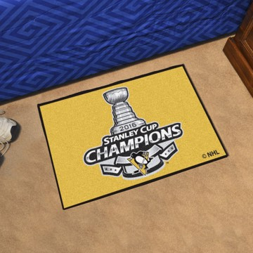 Picture of NHL - Pittsburgh Penguins 2016 Stanley Cup Champions Starter Mat