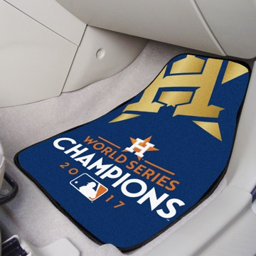Picture of MLB - Houston Astros World Series Champions 2017 Carpet Car Mat Set