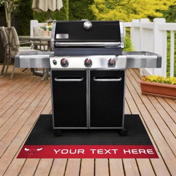 Picture of NBA - Chicago Bulls Personalized Grill Mat