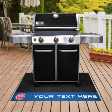 Picture of Detroit Pistons Personalized Grill Mat