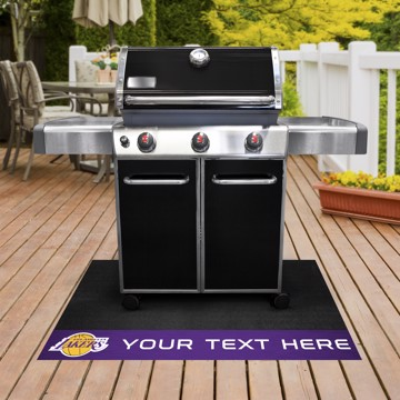 Picture of Los Angeles Lakers Personalized Grill Mat