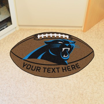 Picture of NFL - Carolina Panthers Personalized Football Mat