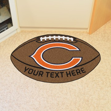 Picture of NFL - Chicago Bears Personalized Football Mat
