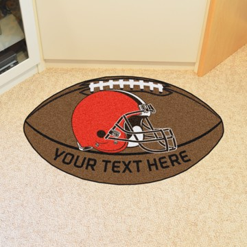Picture of Cleveland Browns Personalized Football Mat