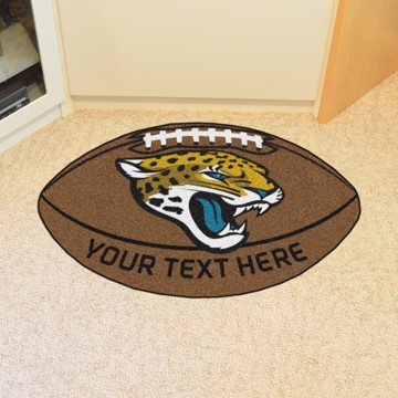 Picture of Jacksonville Jaguars Personalized Football Mat