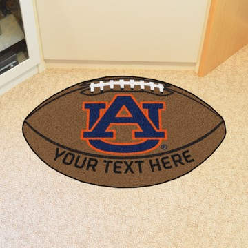Picture of Auburn Personalized Football Mat