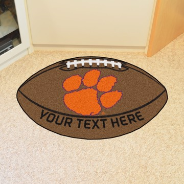 Picture of Clemson Personalized Football Mat