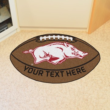Picture of Arkansas Personalized Football Mat