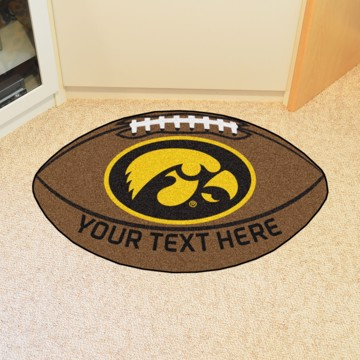 Picture of Iowa Personalized Football Mat