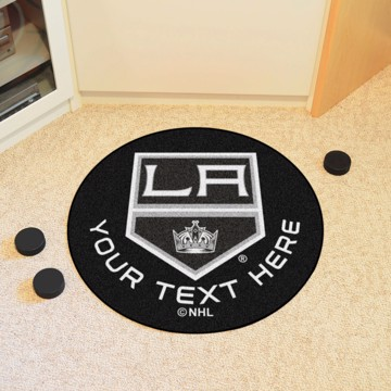 Picture of NHL - Los Angeles Kings Personalized Hockey Puck Mat