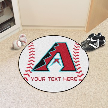 Picture of Arizona Diamondbacks Personalized Baseball Mat