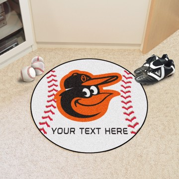 Picture of Baltimore Orioles Personalized Baseball Mat