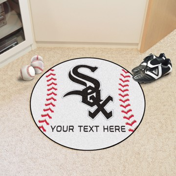 Picture of Chicago White Sox Personalized Baseball Mat