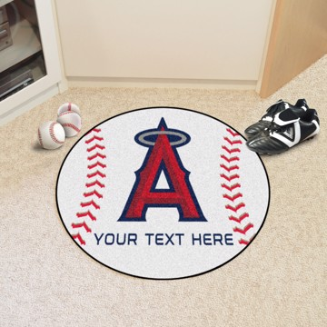 Picture of MLB - Los Angeles Angels Personalized Baseball Mat