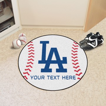 Picture of Los Angeles Dodgers Personalized Baseball Mat