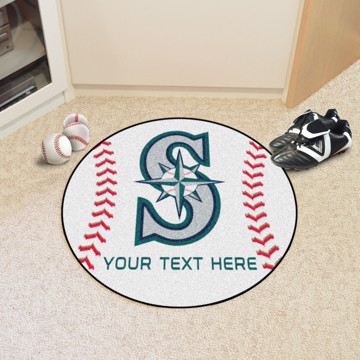 Picture of MLB - Seattle Mariners Personalized Baseball Mat