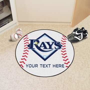 Picture of MLB - Tampa Bay Rays Personalized Baseball Mat