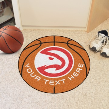 Picture of NBA - Atlanta Hawks Personalized Basketball Mat