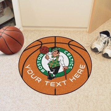 Picture of NBA - Boston Celtics Personalized Basketball Mat