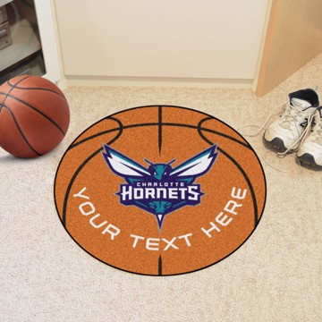 Picture of NBA - Charlotte Hornets Personalized Basketball Mat