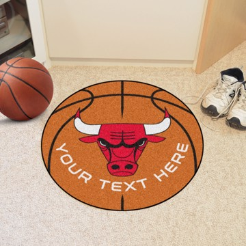 Picture of NBA - Chicago Bulls Personalized Basketball Mat