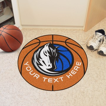 Picture of NBA - Dallas Mavericks Personalized Basketball Mat