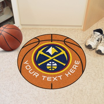 Picture of NBA - Denver Nuggets Personalized Basketball Mat