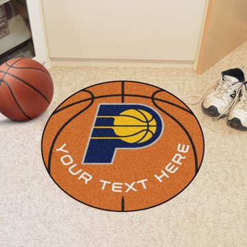 Picture of NBA - Indiana Pacers Personalized Basketball Mat