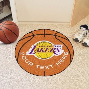 Picture of Los Angeles Lakers Personalized Basketball Mat