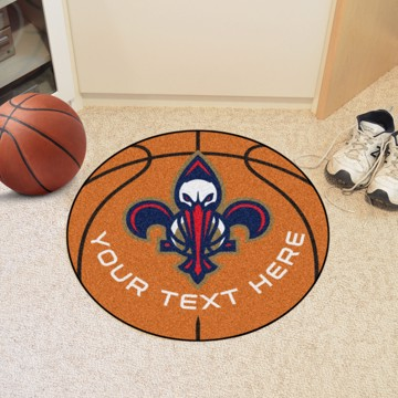 Picture of NBA - New Orleans Pelicans Personalized Basketball Mat
