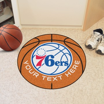 Picture of NBA - Philadelphia 76ers Personalized Basketball Mat