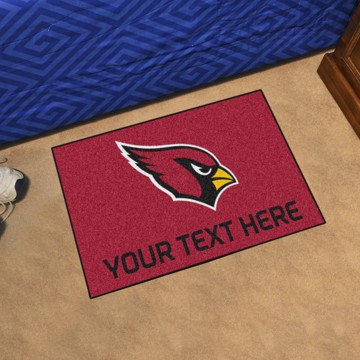 Picture of Arizona Cardinals Personalized Accent Mat