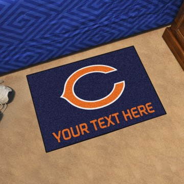 Picture of NFL - Chicago Bears Personalized Starter Mat