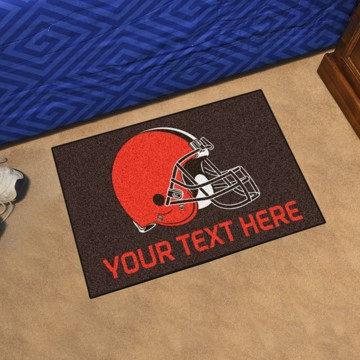 Picture of Cleveland Browns Personalized Starter Mat