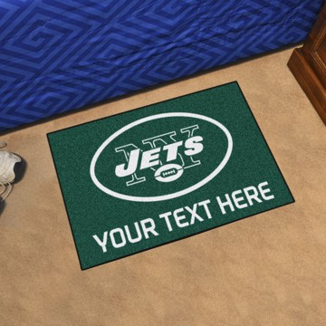 Picture of New York Jets Personalized Starter Mat