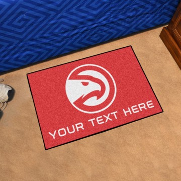 Picture of NBA - Atlanta Hawks Personalized Starter Mat