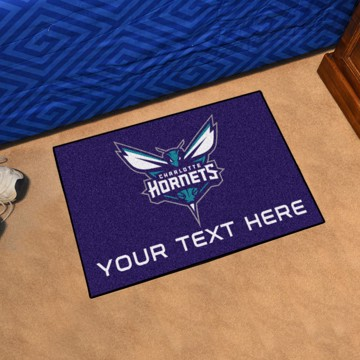 Picture of NBA - Charlotte Hornets Personalized Starter Mat