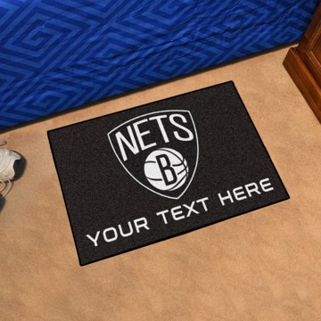 Picture of NBA - Brooklyn Nets Personalized Starter Mat