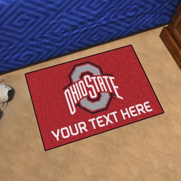 Picture of Personalized Ohio State University Starter Mat