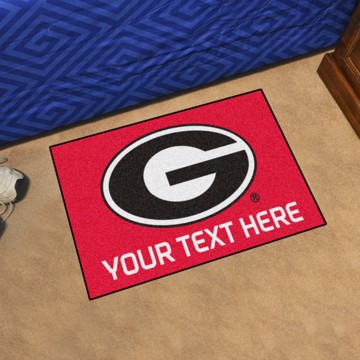 Picture of Georgia Personalized Starter Mat