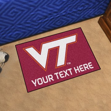 Picture of Personalized Virginia Tech Starter Mat
