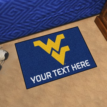 Picture of Personalized West Virginia University Starter Mat