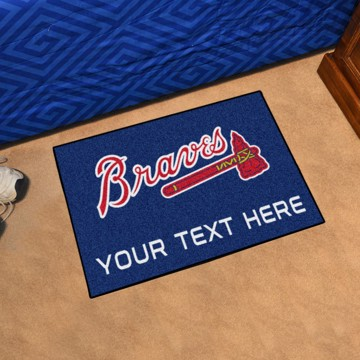 Picture of Atlanta Braves Personalized Accent Mat