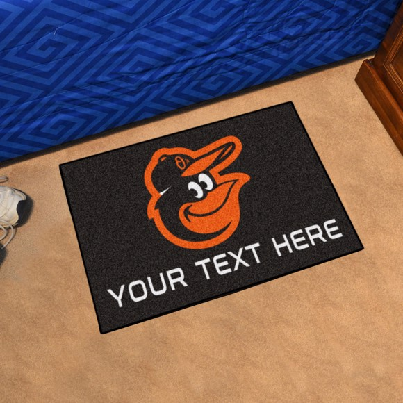 Picture of MLB - Baltimore Orioles Personalized Starter Mat